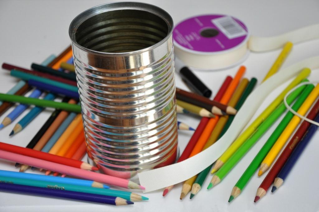 Букет с карандашами
