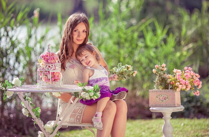 Фотосессия для мамы