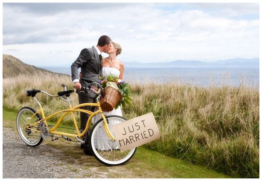 Подарок на свадьбу - велосипед