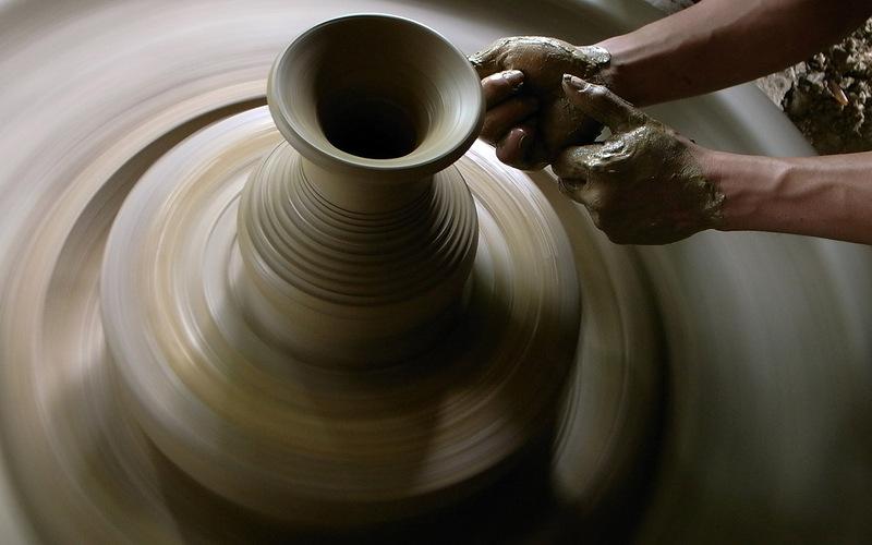 мастер класс - лепка из глины