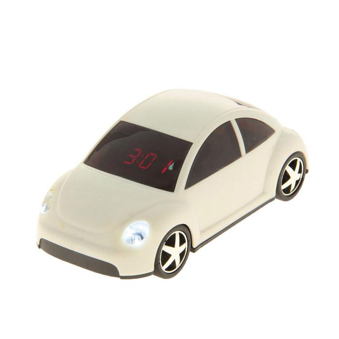 будильник в форме автомобиля