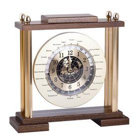 настольные часы с мировым временем