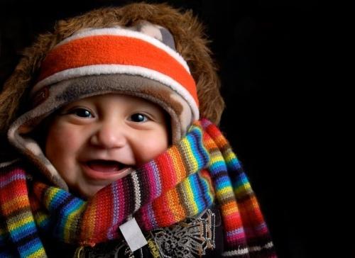 теплый шарф и шапка