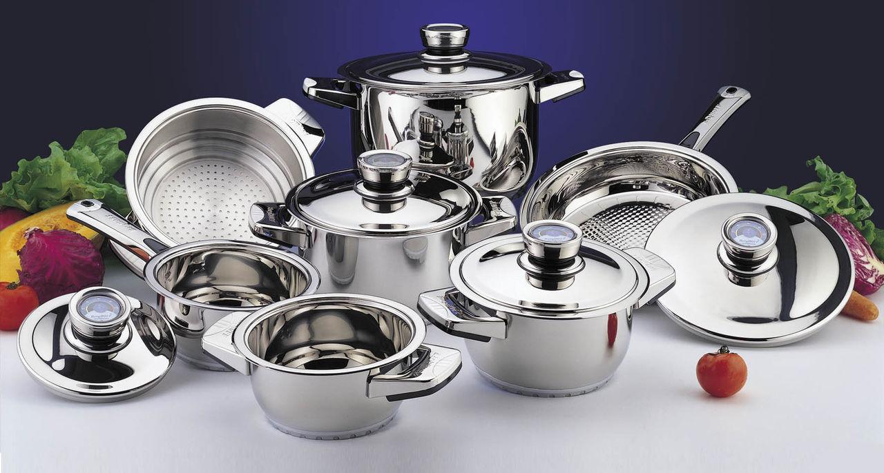 Как делают профессиональную посуду (видео)