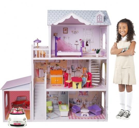 Дом с мебелью для девочки