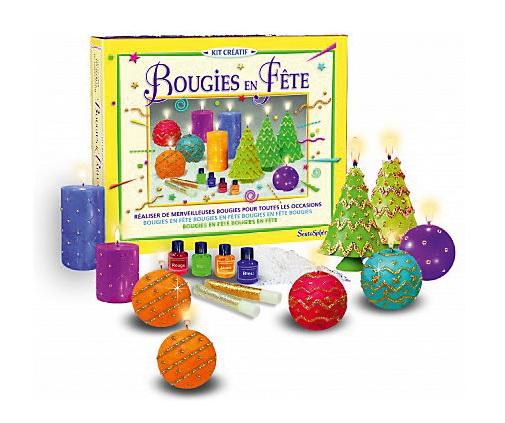 Набор для изготовления новогодних свечей