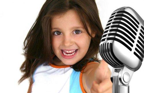 Вокальный дебют для детей - запись в студии