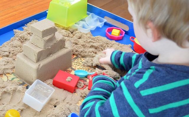 кинетический песок для детей_1